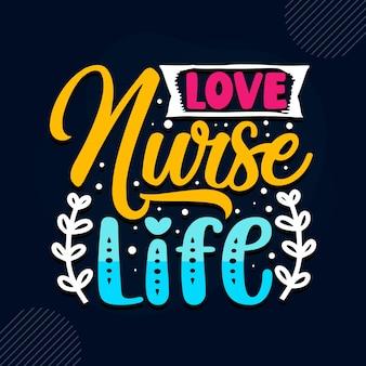 사랑 간호사 생활 간호사 견적 프리미엄 벡터