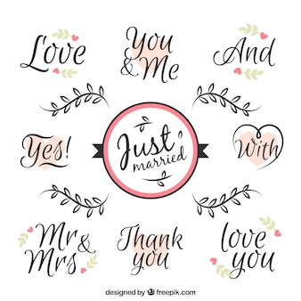 Love phrases for wedding day