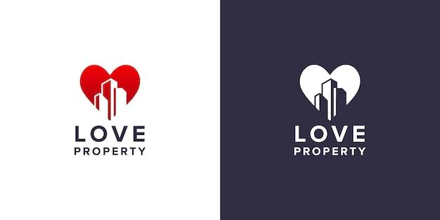 Love property logo design