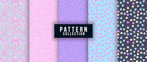 Love seamless pattern