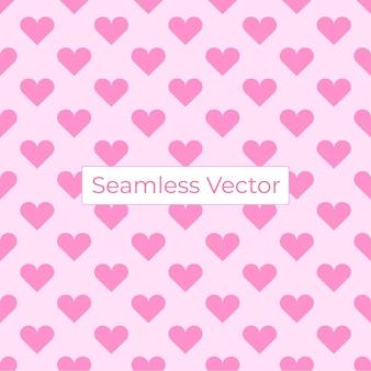 사랑 원활한 벡터 표면 패턴