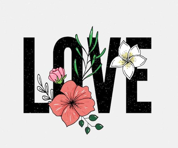 Love slogan