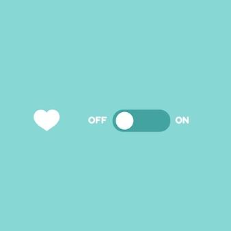 Любовь переключатель