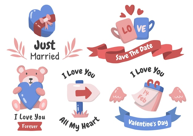 Love theme set