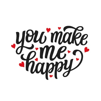 Love typography quote