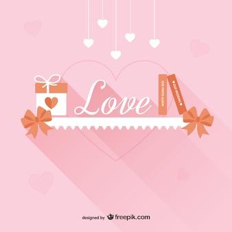愛バレンタイン背景