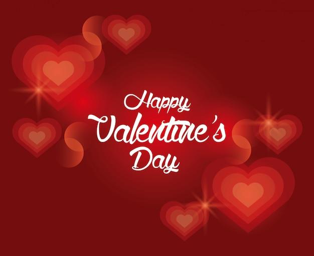 Love valentines day cartoon