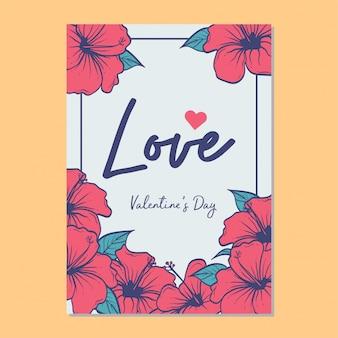 Love vector template