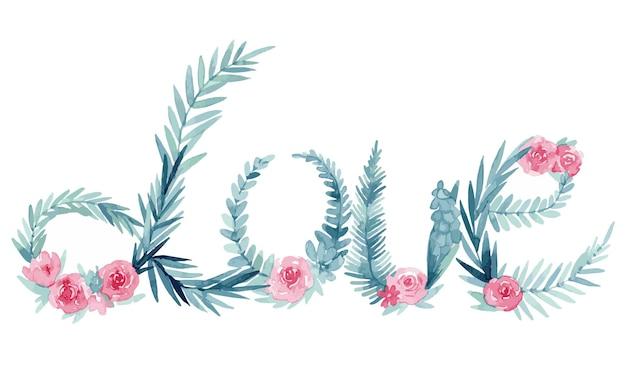 Любовь с цветами на день святого валентина