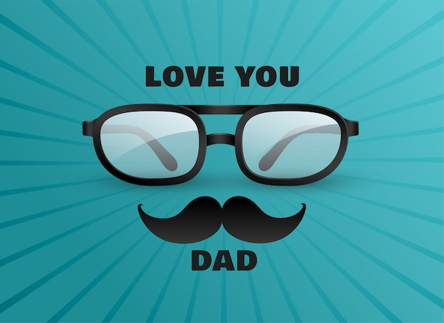 Люблю тебя папа открытка