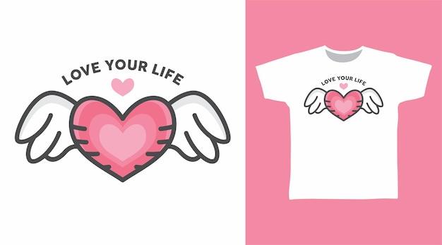 당신의 인생을 사랑합니다 tshirt 디자인
