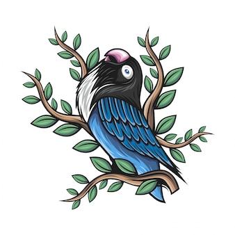 Небольшой попугай
