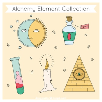 Lovely alchemy element collection