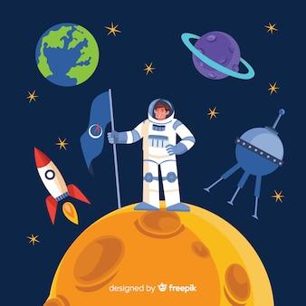 Lovely astronaut design