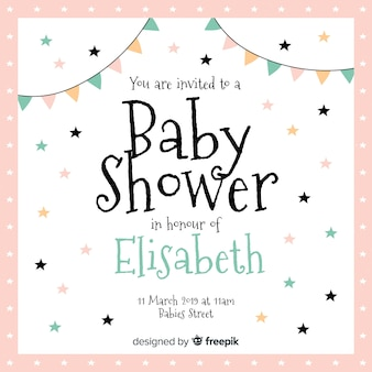 Baby Shower Vectors Photos And Psd Files Free Download