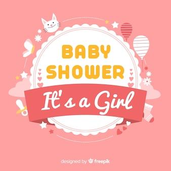 Lovely baby shower design