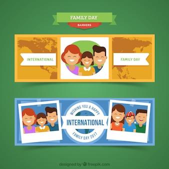 Bandiere belle per il giorno internazionale delle famiglie