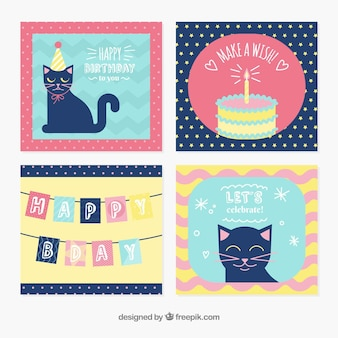 Lovely birthday card templates