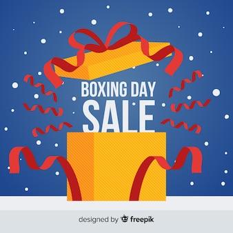 Прекрасный день продажи бокса композиция