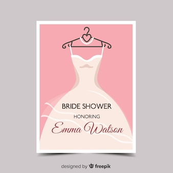 Lovely bridal shower design