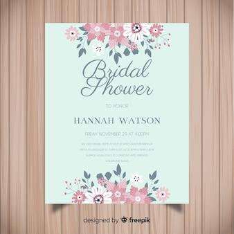 Lovely bridal shower template