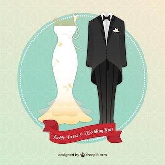 Прекрасные платья невесты и свадебный костюм