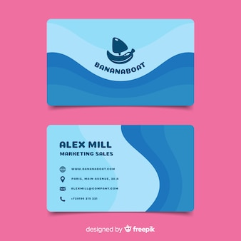 Lovely business card template