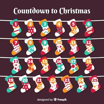Lovely christmas advent calendar