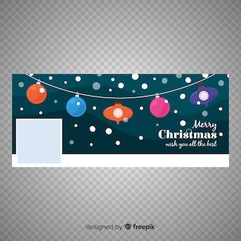 Lovely christmas facebook banner