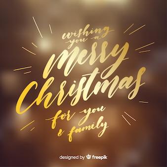 Natale incantevole scritta sfondo