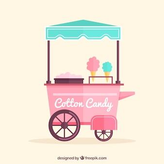 Lovely cotton candy kiosk