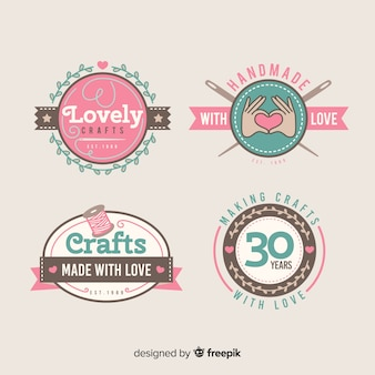 Lovely crafts label collection