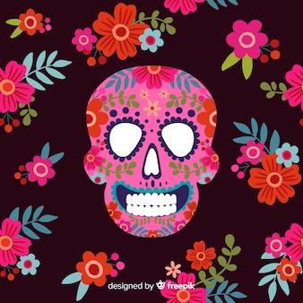 Lovely día de muertos background