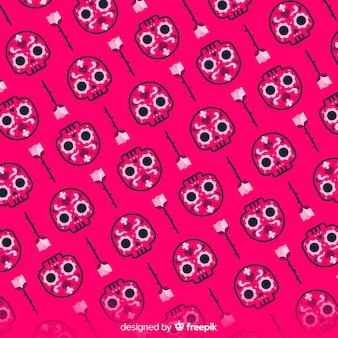 Lovely dia de muertos pattern
