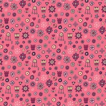 Lovely floral pattern