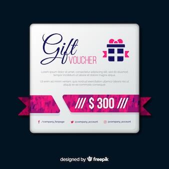 Lovely gift voucher banners