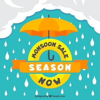 Lovely monsoon season sale composition