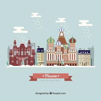 Прекрасный город москва