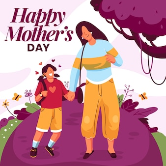 Lovely mother's day background