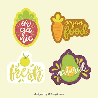Bella composizione di alimenti biologici
