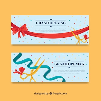 Lovely pack of flat opening banners