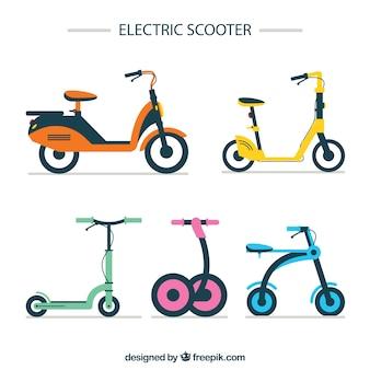 Прекрасная коллекция современных скутеров