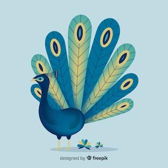 Lovely peacock background