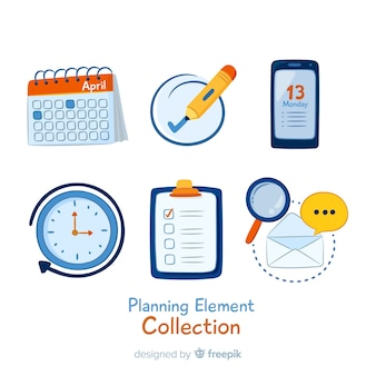 Lovely planning elements pack