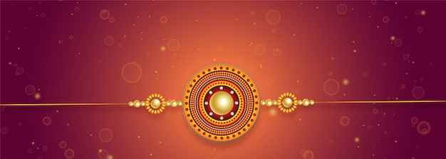 Lovely rakhi design for raksha bandhan festival
