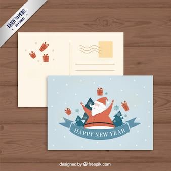 Прекрасный санта-клаус открытку