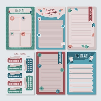 Lovely scrapbook notes and cards collection