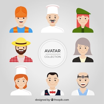 Lovely set of jobs avatars
