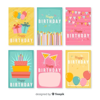 Lovely set of birthday cards