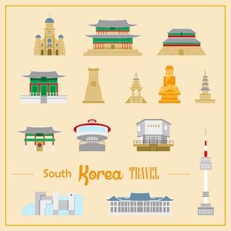 평면 스타일의 사랑스러운 한국 건축 컬렉션